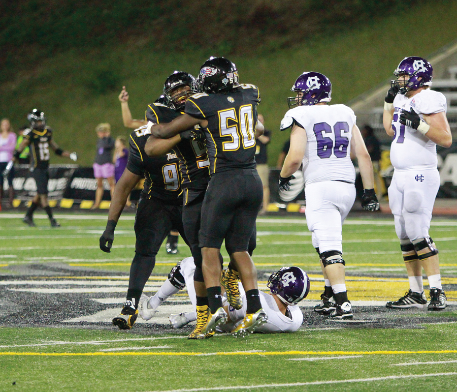 Mens Football vs. Holy Cross 009 - Burke