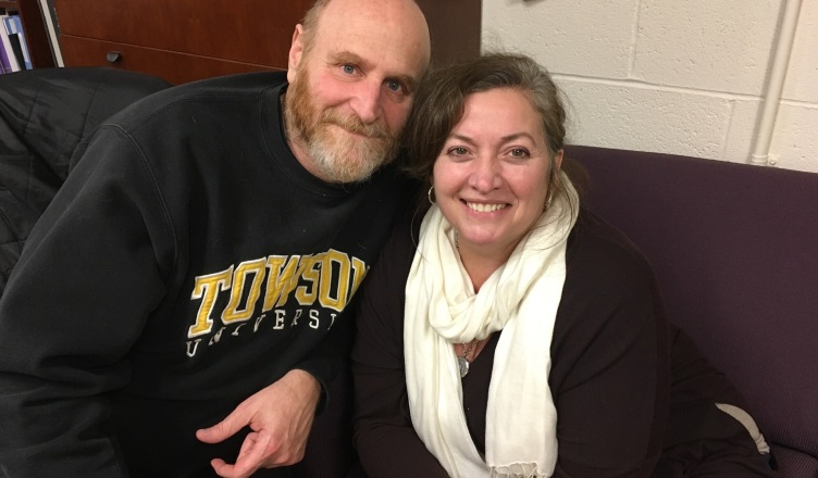 Towson theatre professors Jay Herzog and Donna Fox have been married for 25 years.