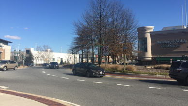 Barnes & Noble in Towson Circle is going to close later this spring. Photo by Cody Boteler.