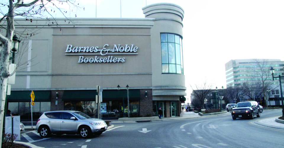 Barnes and Noble Towson Circle traffic circle