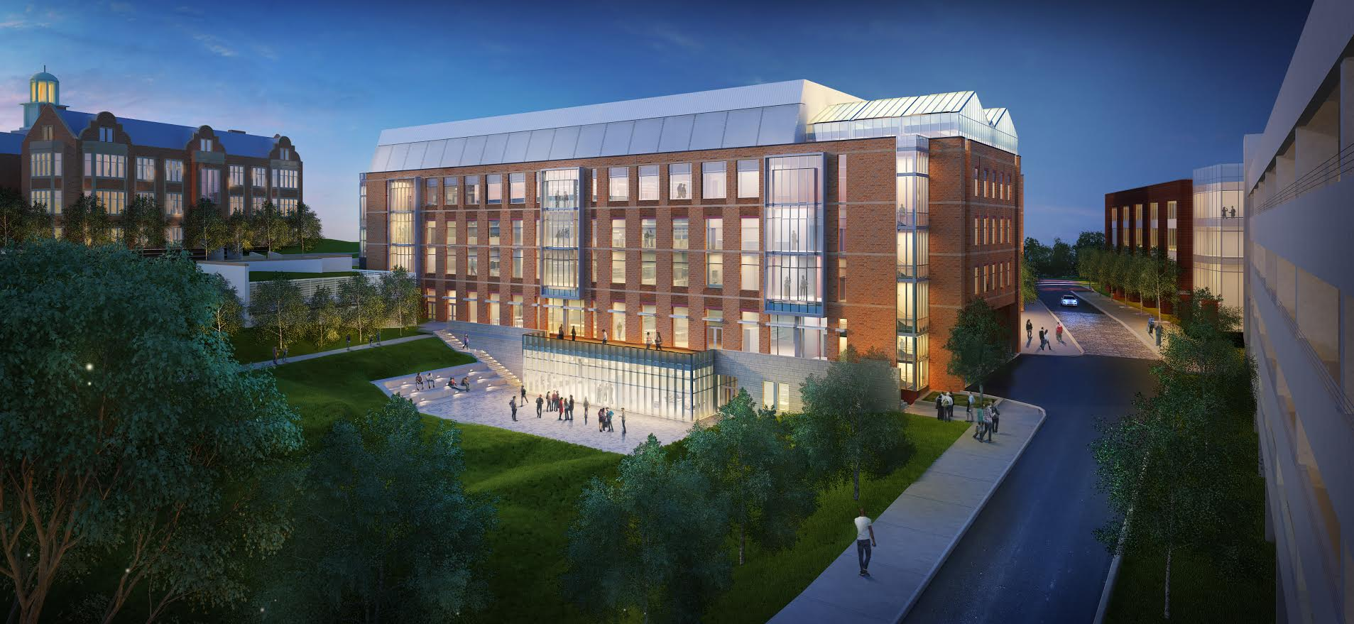 The proposed science building. Courtesy of Towson University.