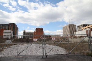 The Baltimore County Council voted in December 2017 to provide nearly $43 million in financial assistance to the Towson Row developers. (Marcus Dieterle/ The Towerlight)